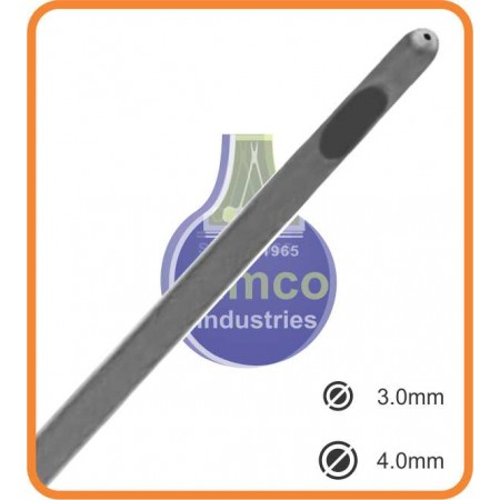 Liposuction Cannula with Thread Fitting handle connector