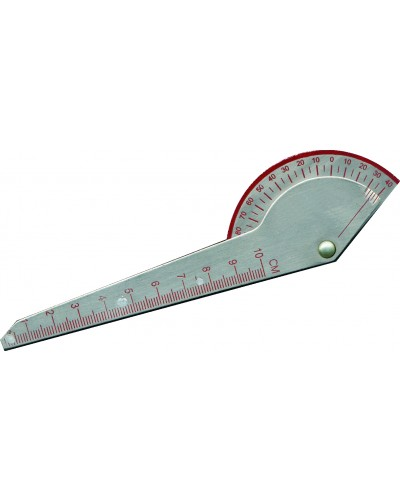 "180º Digit Goniometer 6"" Stainless Steel"