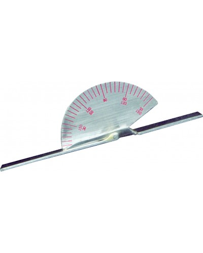 "Finger Goniometer Small 3½"" Stainless Steel"