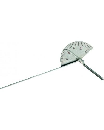 """Finger Goniometer Standard 6"""" Stainless Steel"""