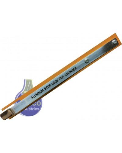 Aluminum Stop Lock for Syringes