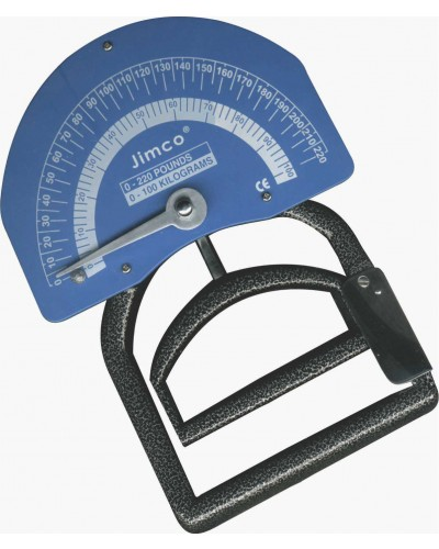 Smedley Hand Dynamometer Lightweight Aluminum